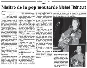 article La Voix acadienne - Nick Arsenault -juillet 2014 shoppée