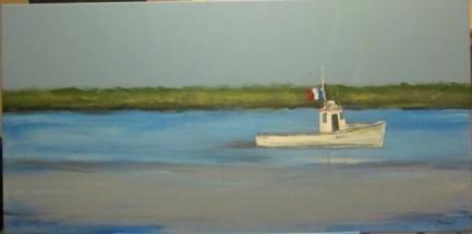 Bateau côtier en Acadie -Michel Thériault