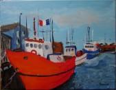 Bateaux en Acadie - Michel Thériault