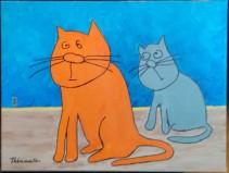 Chats sur le plancher - Michel Thériault