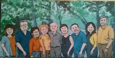 Famille Doucet - Michel Thériault