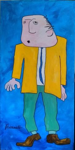 Homme au veston jaune -Michel Thériault