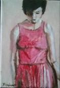 Jeune femme en robe d'été - Michel Thériault
