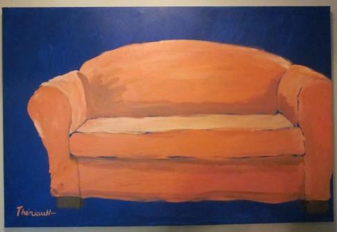 Le divan -Michel Thériault
