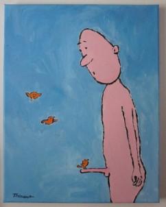 Michel Thériault - L'oiseau sur la branche