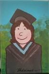 Petite peinture 12 -Michel Thériault -Graduée de l'Université de Moncton