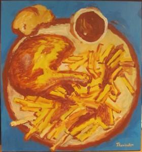 Poulet et frites -MichelThériault