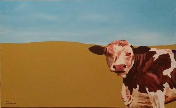 vache-dans-un-champs-michel-theriault