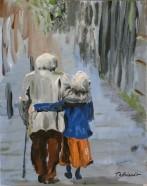 Vieux couple amoureux - MT