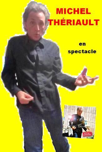 michel thériault en spectacle poster 2015