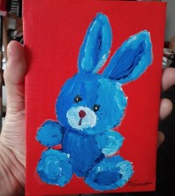 Petit lapin bleu - MT